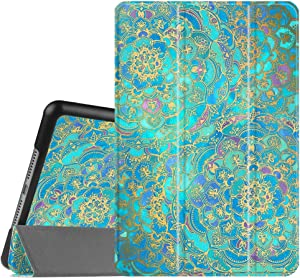 Fintie Case for iPad Mini 4 - Slimshell Lightweight Smart Stand Protective Cover with Auto Sleep/Wake Feature for iPad Mini 4 (2015 Release), Shades of Blue