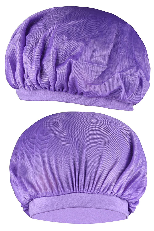 SUNNYTREE Soft Sleeping Night Hat Caps Hair Protect Care Bonnet Hat Men Women