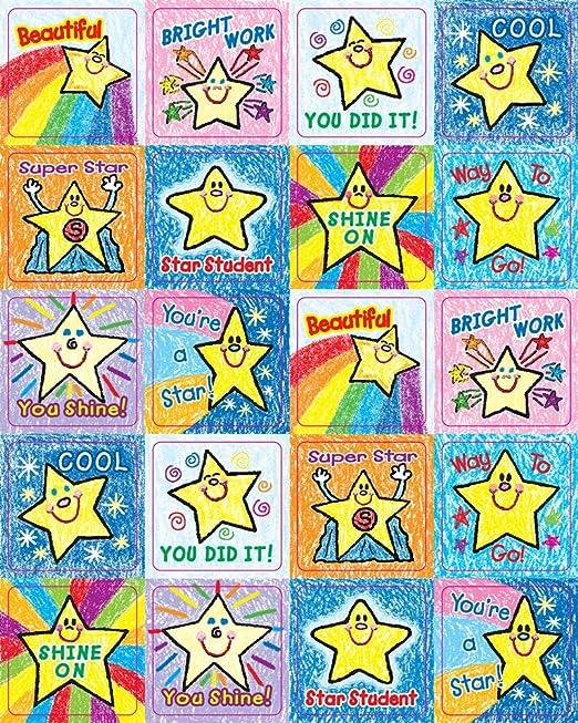 Amazon Carson Dellosa Stars Motivational Stickers 0640 – Carson-dellosa Worksheets