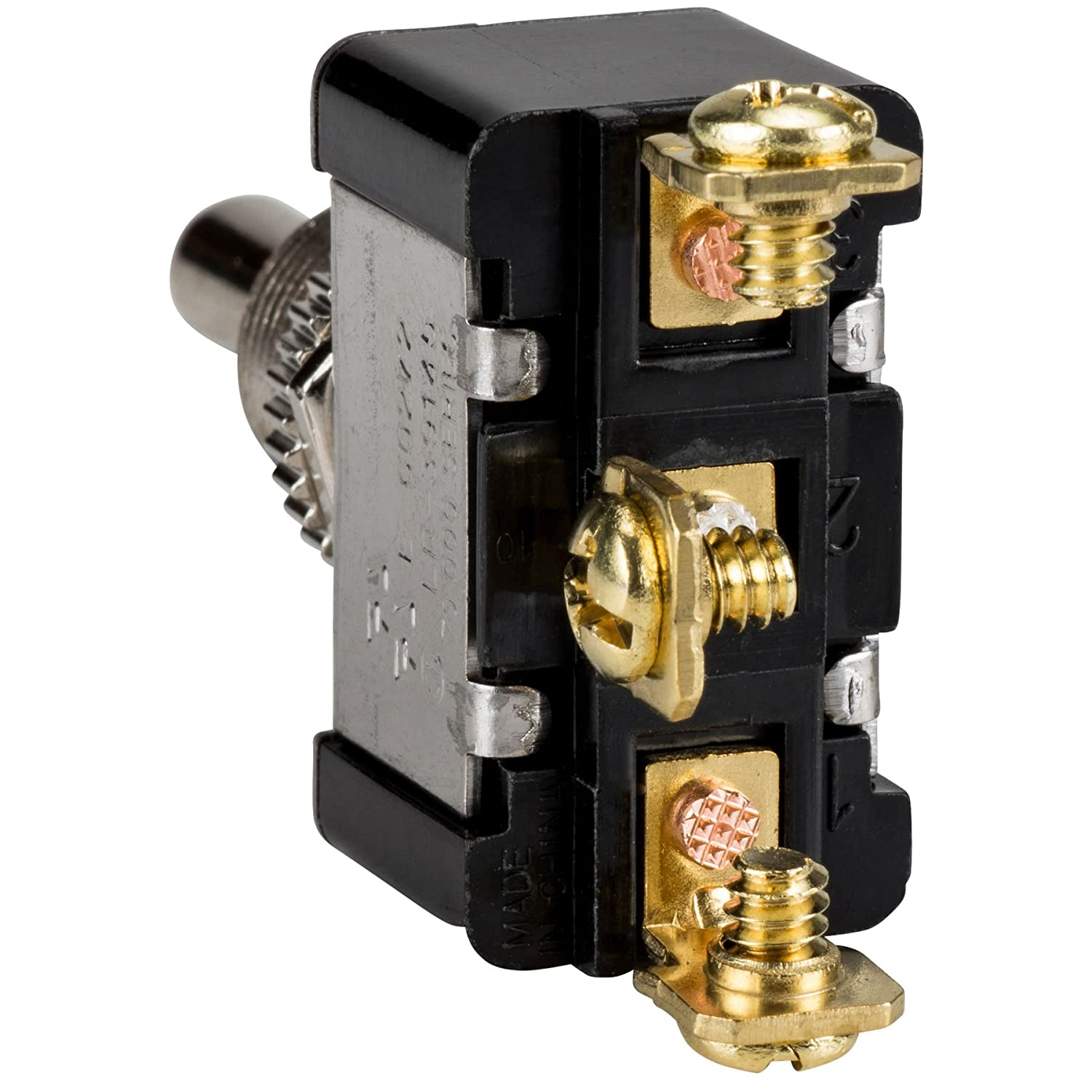 Spdt Heavy Duty Toggle Switch Center Off Momentary Switches 20 Amp Screw Terminal Spst Onoff Electronics
