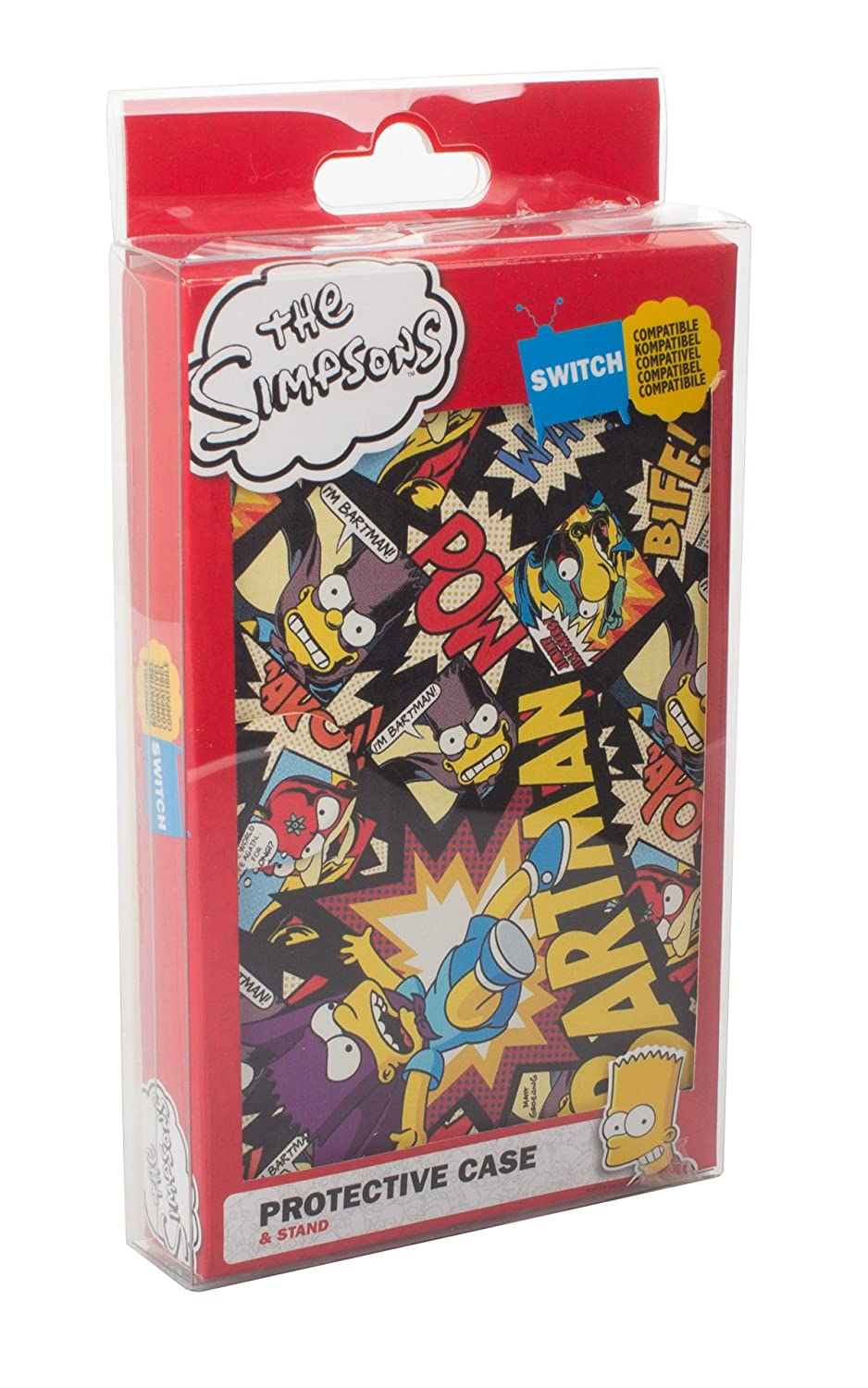 Amazon.com: The Simpsons Switch 2-in-1 Portable Protective ...