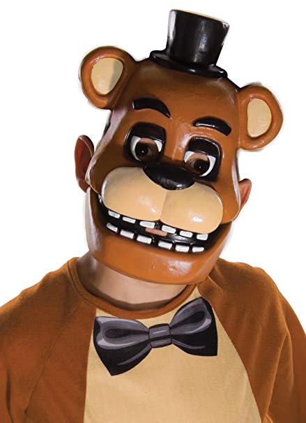 amazon com rubie s five nights at freddy s child s half mask toys