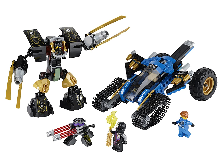 amazoncom lego ninjago 70723 thunder raider toy toys games