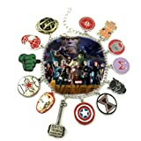Amazon Price History for:Marvel Infinity War AVENGERS ( 11 Themed Charms) Metal/Enamel Charm BRACELET By Superheroes Brand