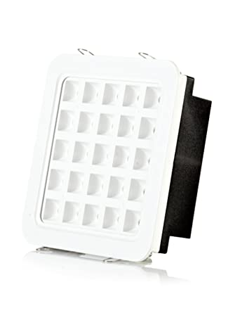 Hispania Empotrable LED de techo 25W de consumo | 2500 lumens, luz cálida 3000K