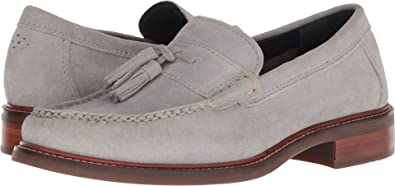 9aa17fe82fa Cole Haan Mens Pinch Sanford Tassel Loafer Vapor Grey Suede 9.5 D (M)