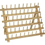 60 Spool / Cone Wood Thread Rack - By Threadart - 3 Sizes Available