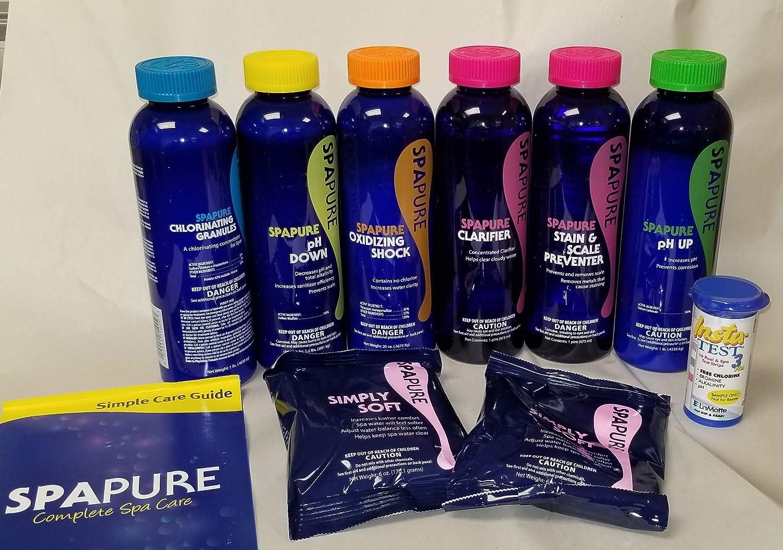 SpaPure Complete Chlorine Spa Care Kit