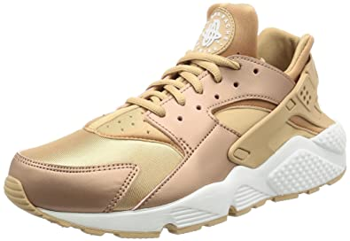 nike huarache se red bronze