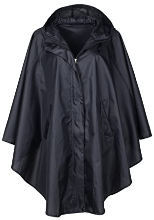 Amazon.com: QZUnique Women's Waterproof Packable Rain Jacket ...