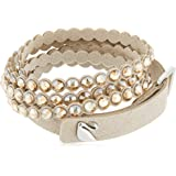 SWAROVSKI Women's Power Collection Bracelet, Beige