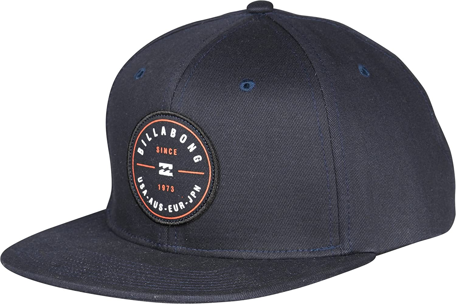 Billabong, cappellino da uomo Rotor Snap Back, Uomo, Rotor Snap Back, Grey Heather GSM EUROPE C5CM02