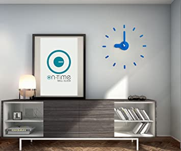 Amazon.com: Contemporary Wall Clock, Kids Room, Kitchen, home ...