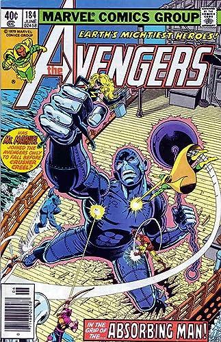 Avengers #184 VG 1979 Stock Image Low Grade