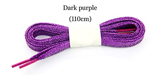 Shoelaces 10paris Sport Golden Silver Black Metallic Gold Thread Shoelace Round Rope Laces For Outdoor Climbing Casual Trainer Laces 110cm Shoes