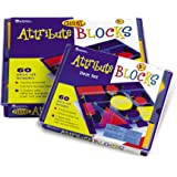 Learning Resources Attribute Blocks Desk Set In Tray