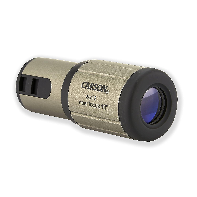 Carson CloseUp 6x18mm Close-Focus Monocular (CF-718) Carson Optical