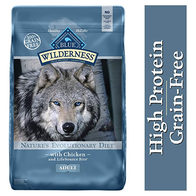 Blue Buffalo Wilderness High Protein Grain Free - Best Wild-Food Brand