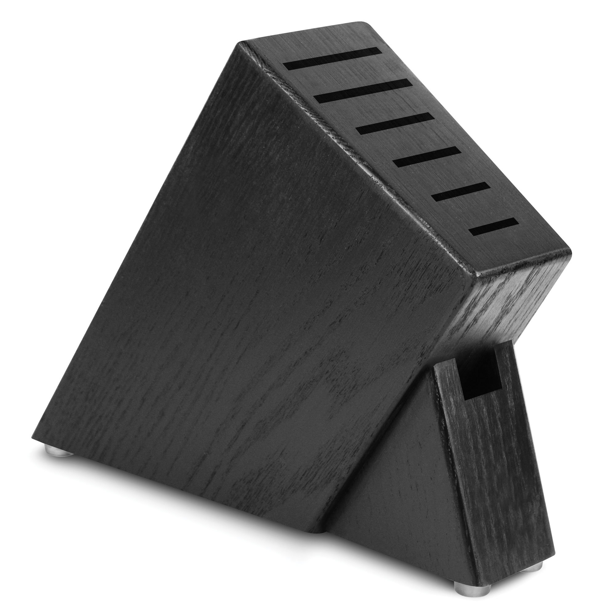 Cutlery and More 7-slot Slim Knife Block (Black)