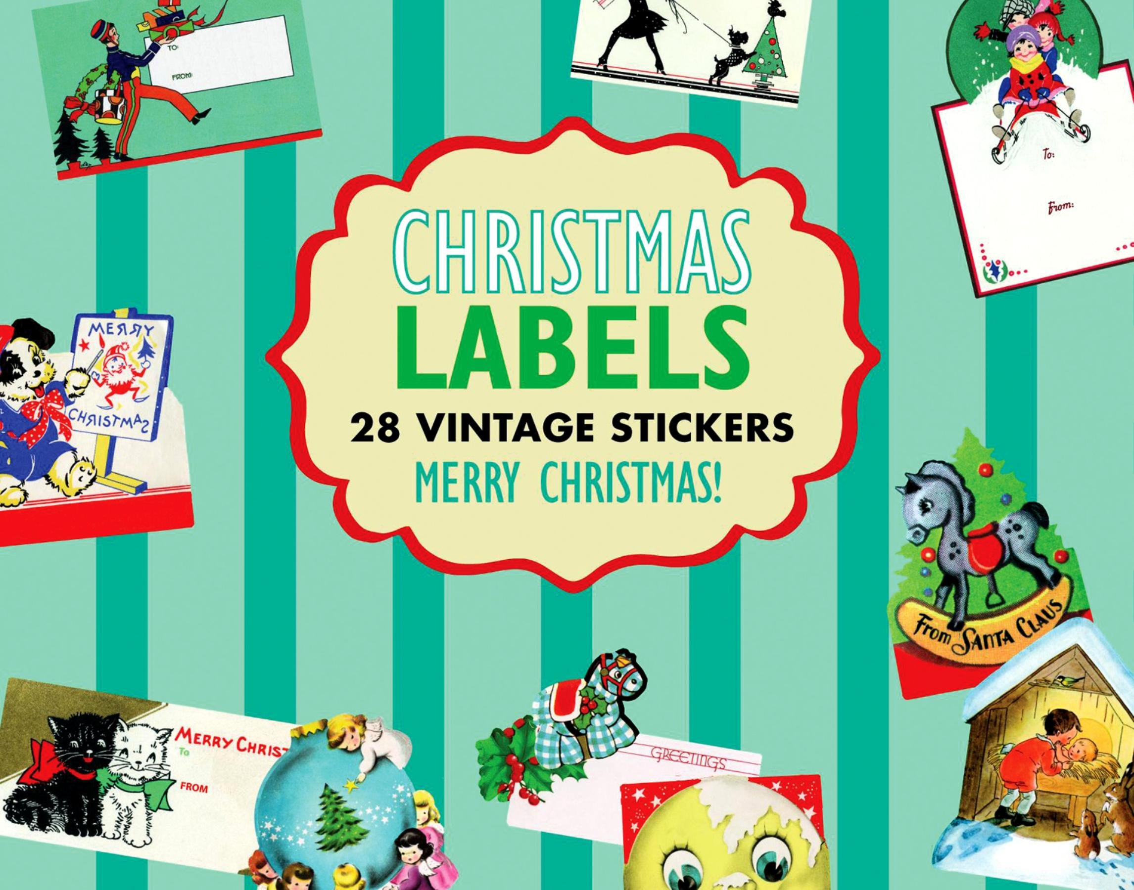 Download Christmas Gift Labels Sticker Box (Holiday Stickers) PDF