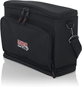 Gator Cases Padded Carry Bag to Hold Shure BLX Style Wireless System with (2) Microphones and (2) Body Packs (GM-DUALW)