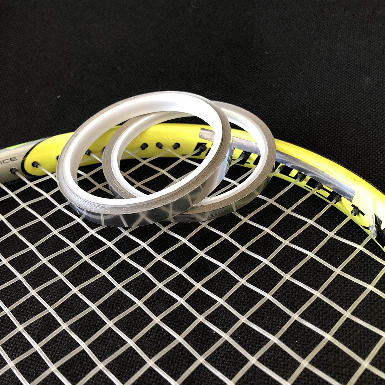 SummerHouse 0.5 Gram Per Inch 0.5g//inch Lead Tape 1//4 Width Tennis Racquet Lead Adding Weight Racket Training Swingweight Self-Adhesive