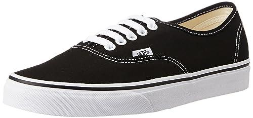 Vans Unisex Authentic Black Sneakers - 11 UK India (46 EU) (VN000EE3BLK1 160bc9e0d15