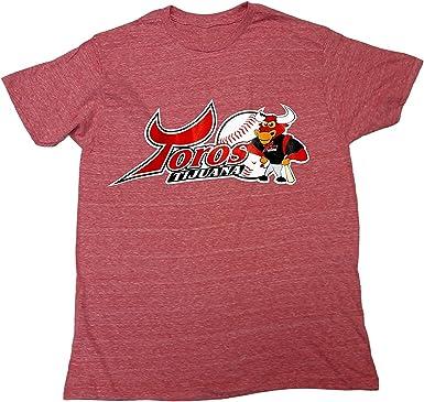 Arza Sports Camiseta del Equipo de béisbol Mexicano Toros de Tijuana - Rojo - Medium: Amazon.es: Ropa y accesorios