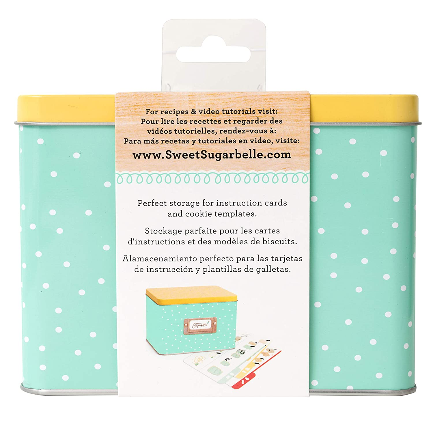 Sweet Sugarbelle Recipe Card Tin by American Crafts 374097