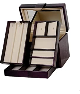 Buy Richpiks Jewellery Accessories Box Brown Shaded Color With Clasp