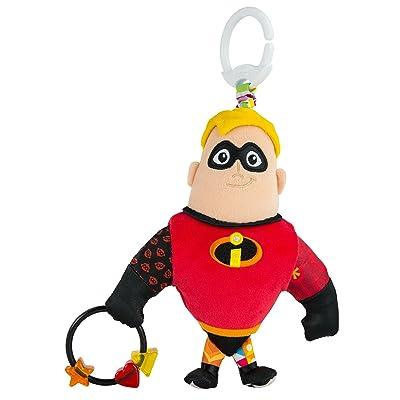 Lamaze Disney/Pixar Clip & Go, Mr. Incredible Clip-On Stroller Toy : Baby