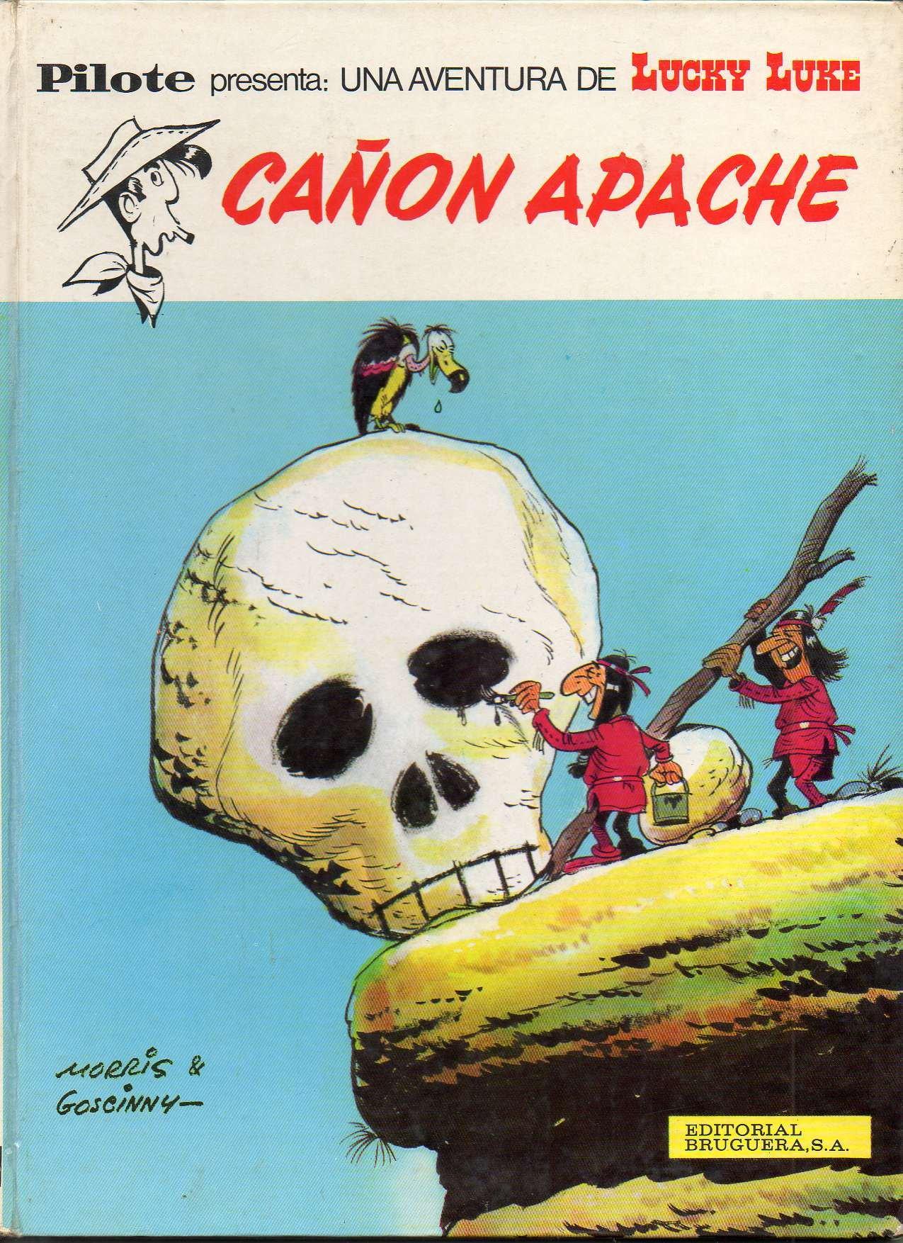 Lucky Luke Cañon Apache: Amazon.es: Morris y Goscinny ...