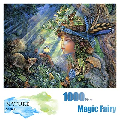 Nature Puzzle for Adults - 1000 Piece Jigsaw Puzzles and Rompecazas for Adults for Kids, Teens and Family: Toys & Games