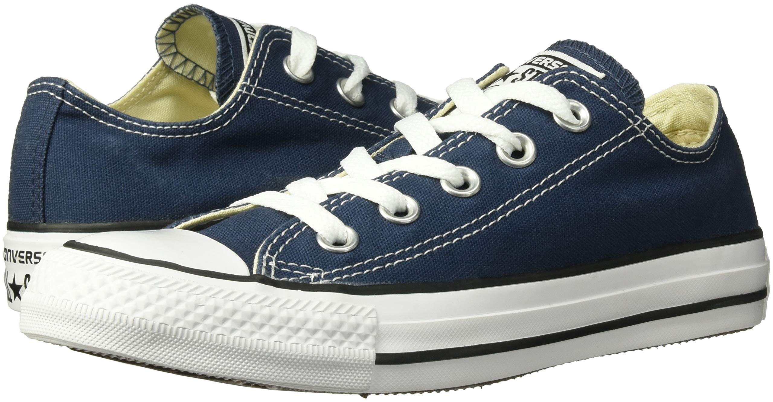 Converse Unisex Chuck Taylor All Star Low Top Navy Sneakers - 12MN-14WO B(M) US by Converse (Image #6)