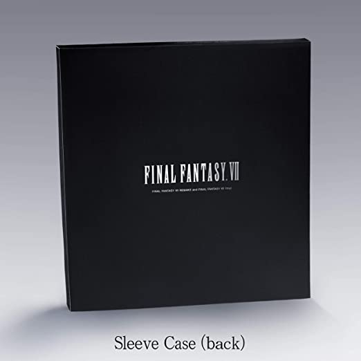 Final Fantasy VII 7 Original Vinyl Record Soundtrack 2 LP Cloud Sephiroth Disc