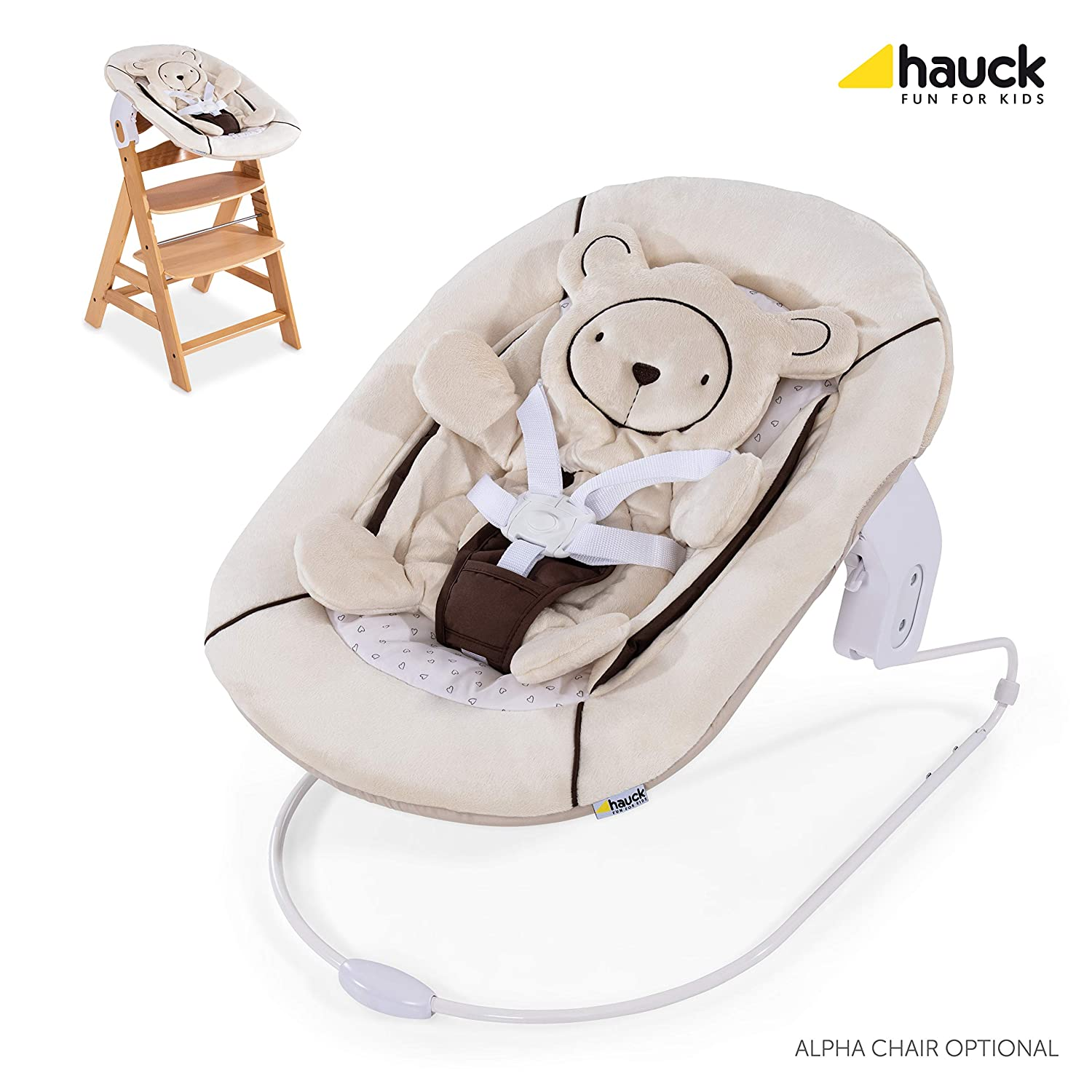 Amazon Com Hauck Alpha Bouncer 2 In 1 Newborn Set Cosy Baby