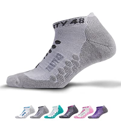Thirty 48 Ultra-Light Running Socks Unisex, CoolPlus Fabric Keeps Feet Cool & Dry