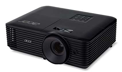 Acer Essential X118AH Ceiling-Mounted Projector 3600lúmenes ANSI DLP SVGA (800x600) Negro Video - Proyector (3600 Lúmenes ANSI, DLP, SVGA (800x600), ...