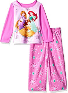 293cdcad9 Amazon.com  Disney Little Girls  Toddler Frozen Anna and Elsa Cozy ...