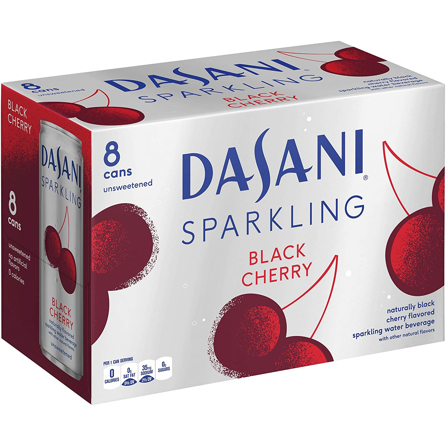 Dasani Black Cherry Sparkling Water