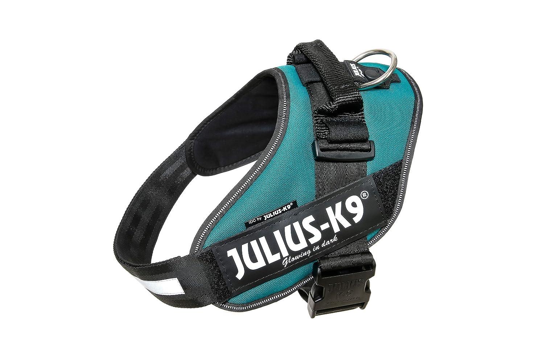Trixie Julius K9 IDC Power Harness, Petrol Green, 2, Green (Petrol Green)