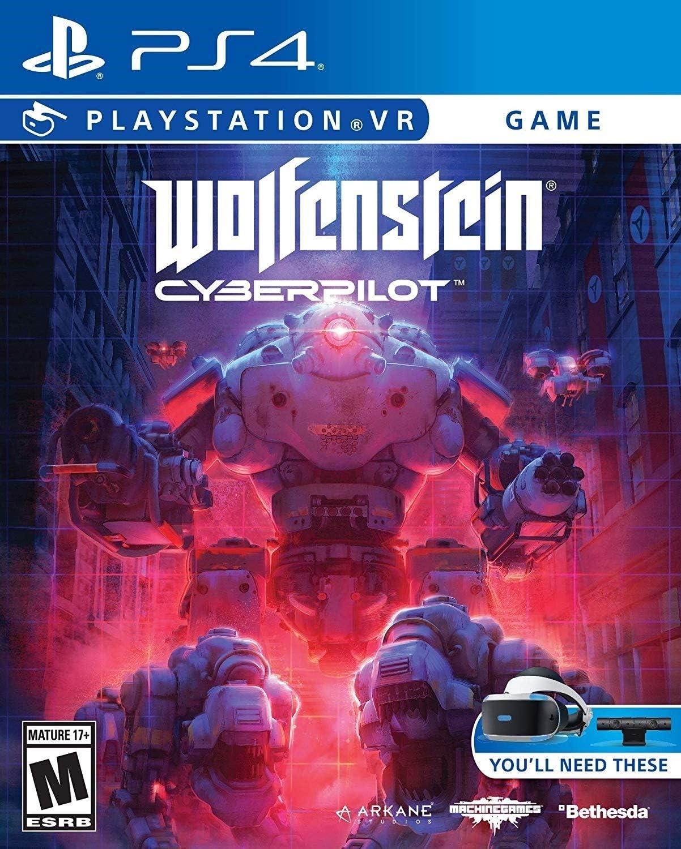 Wolfenstein Wedding Ring.Amazon Com Wolfenstein Cyberpilot Vr Playstation 4 Video Games