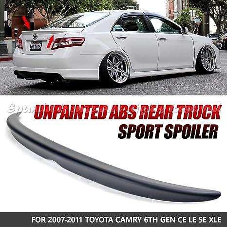 Amazon Com Epandahouse For 07 11 Toyota Camry Abs Unpainted Black