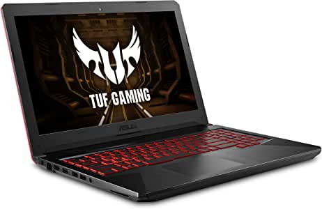 "Asus FX504 TUF Gaming Laptop, 15.6"" Full HD, 8th Gen Intel Core i7-8750H Processor, GeForce GTX 1050 Ti, 8GB DDR4, 256GB M.2 SSD, Gigabit WiFi, Windows 10 - FX504GE-ES72 Black Matter Edition"