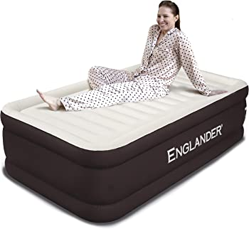 Englander Luxury Microfiber Twin Size Inflatable Airbed