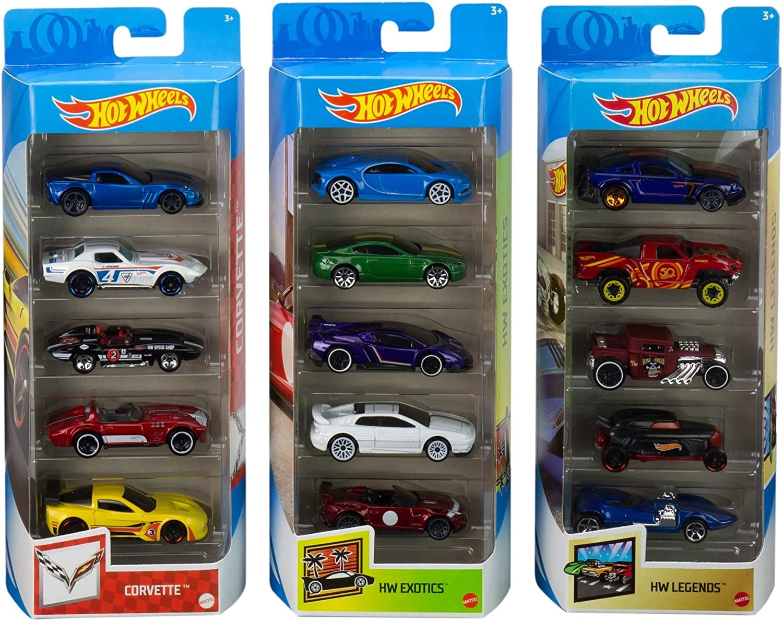 Hot Wheels Collector 5Pk Bundle