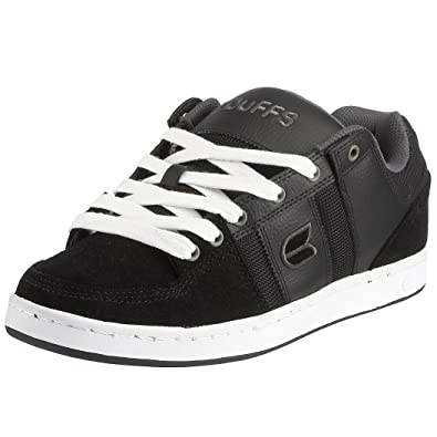 4f2c3c88f9 Duffs Men s Crail Skateboarding Shoe Black D082-BLK 6 UK  Amazon.co ...