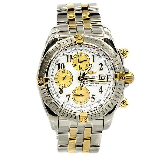 Breitling Chronomat automatic-self-wind Mens Reloj B13356 (Certificado) de segunda mano: Breitling: Amazon.es: Relojes