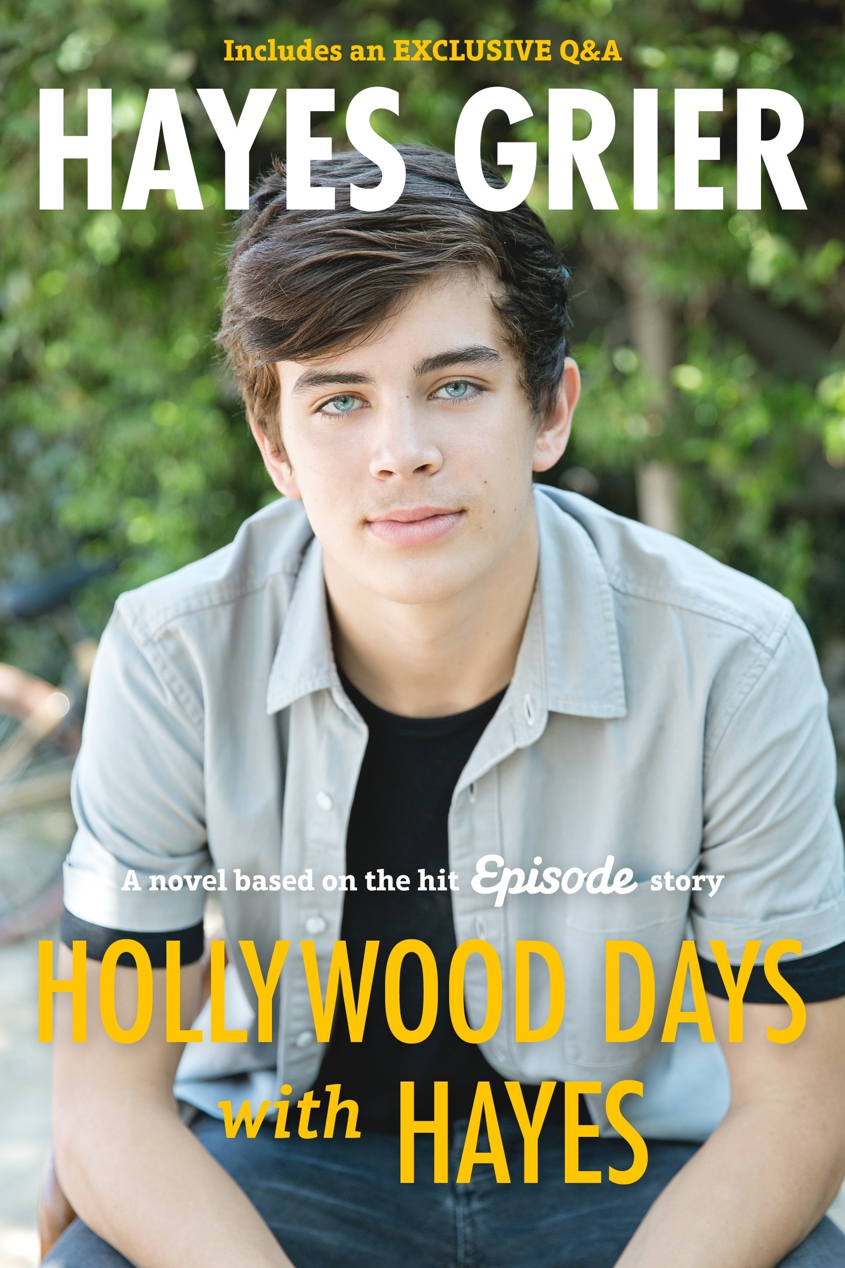 Hollywood Days with Hayes (Anglais) Broché – 15 novembre 2016 HAYES GRIER St Martin's Press 1250138310 Anglais loisir