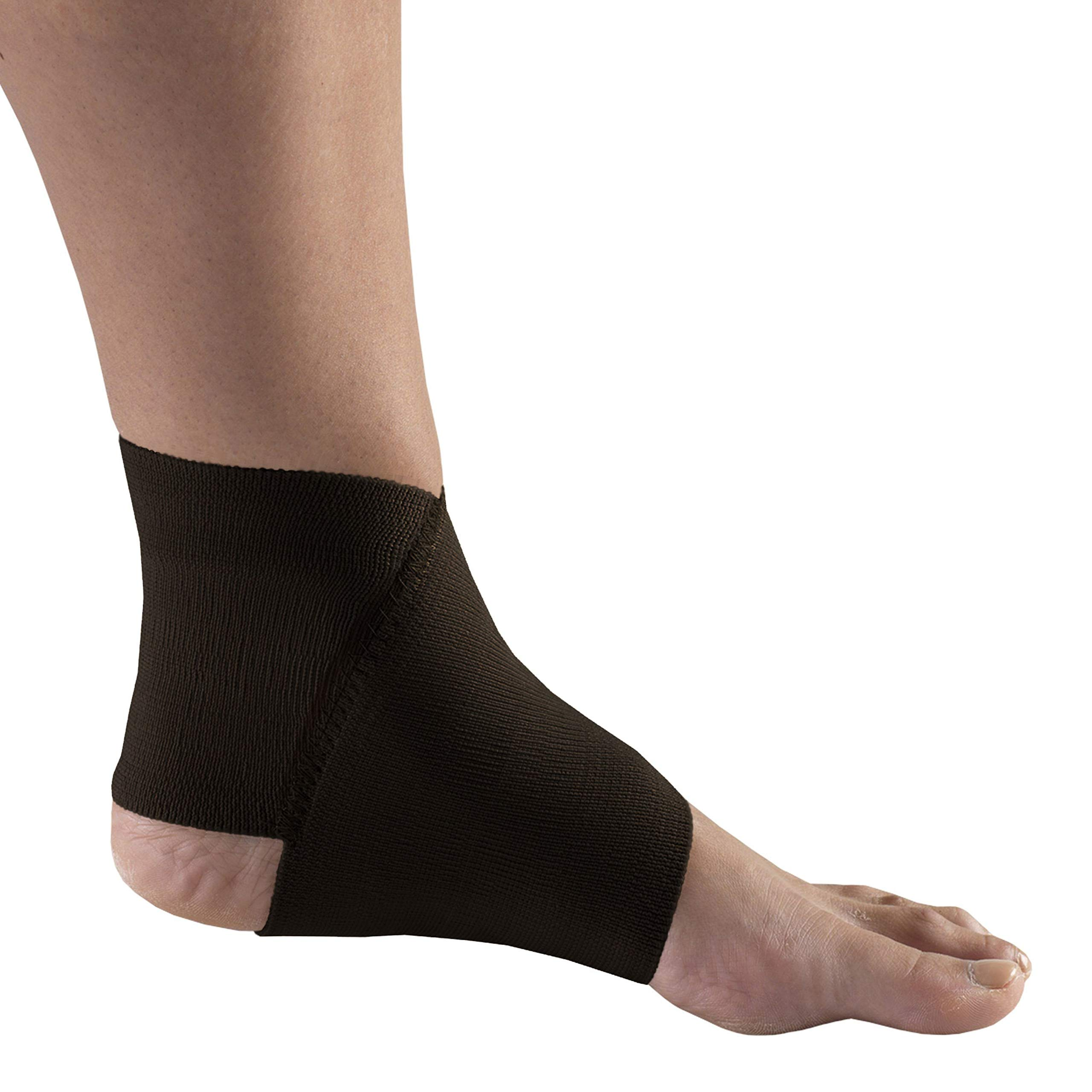 Champion Ankle Support, Figure-8 Style, Knit Elastic, Black,